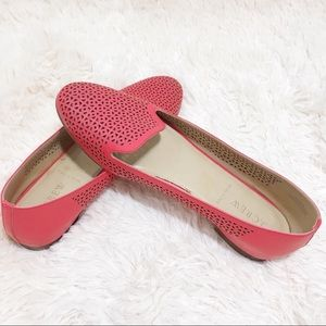 J.Crew Red Flats size 8.5